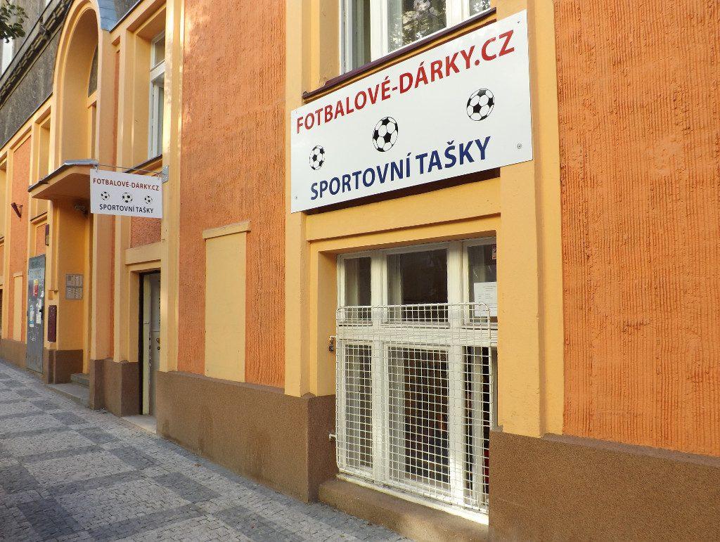 Prodejna Fotbalove-darky.cz Eliášova 5, Praha 6